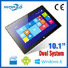 """Android 4.4 Win8 Dual OS Support Intel Baytrail 10.1"""" Tablet PC 2GB+32GB"""