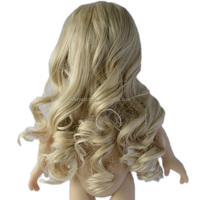 long curly bond 18 inch blythe american girl doll wigs