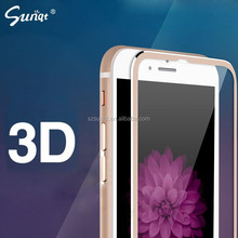 Sunqt new launched hot selling premium 3D Titanium alloy small side protective film used smart mobile phone alibaba express hot