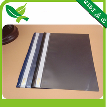 Office stationery plastic clear cover file folder