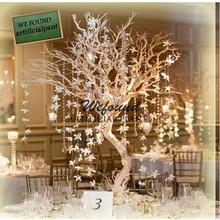 "WF07092 fashion crystal silver manzanita tree wedding table decoration wedding centerpieces 40"""