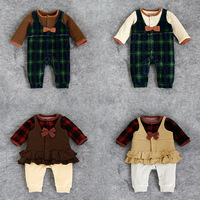 Wholesale Cheap Baby Clothing Newborn Baby Rompers Costume Baby Long Sleeve Romper