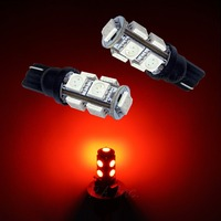 12V 24v W5W T10 Wedge 9 SMD 5050 LED For Car Marker Tail Signal Light Lamps Bulbs Car Accessories Auto Part