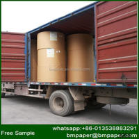 wholesale 300g matte coated card paper in jumbo roll