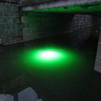 Green 12V LED Underwater Fishing Light