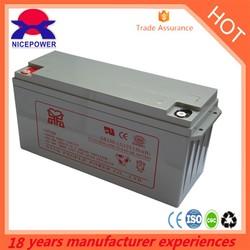 Popular 150ah 12v gel battery price in pakistan