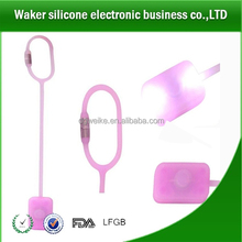 silicone bag light LED with magnetic buckle