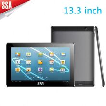 13.3inch RK3188 android4.4 Quad Core1.4GHZ Nand FLASH 32GB TF card 32G customized tablet