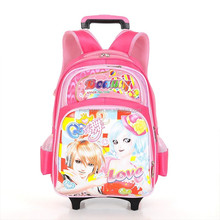 high class trolley student school bag