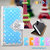 Luxury bling bling crystal diamond case for huawei y6 mobile case