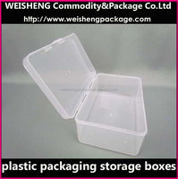 Plastic PP storage case/packing cosmetic box/cosmetic packing box on sale