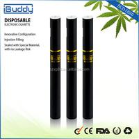 BUD-DS80 200 puff 170mAH Disposable E Cigar unique electric cigarette display pack 40pcs