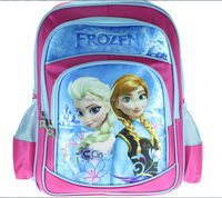 2014 fashion girl school bag wholesale children school bag frozen bag for kids