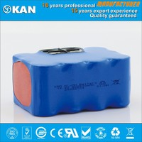 KAN 14.4V 12xSC2500mAh nimh rechargeable battery pack for vacuum cleaner with ROHS certified cell
