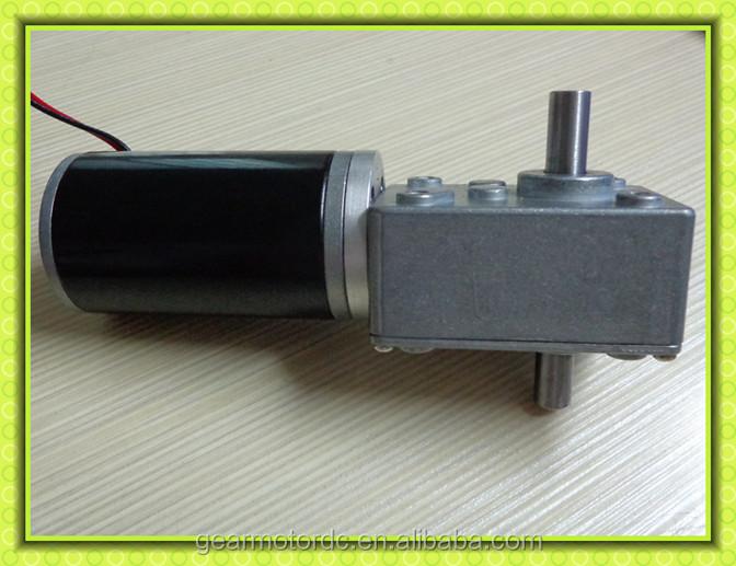 Dual Shaft Silent Low Rpm High Torque 12volt Electrical