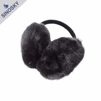 Cheap Fashion Faux Fur Cute Winter Warm Ear Muff for Girls