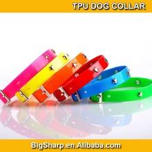 Dog TPU Collar Bling Star Studded Cat Collar Light Soft Necklace Easy Adjustable TPU Pet Star Necklace DC2516B