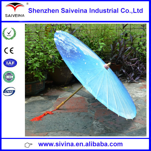 Paper Bamboo Parasol Chinese Paper Parasol With