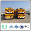 Factory 3 alxe skeleton semi trailer container chassis