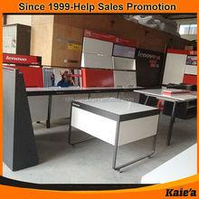 retail store fashion head up display metal metail display stand