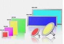 Epistar SMD2835 External driver 600x600mm CSA 347V ac RGB LED Panel Light