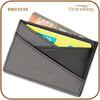2015 New Design Genuine Leather Lady Contrast Color Credit Card Holder Name Card Case