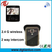 Interphone with camera