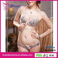 2015 New product High quality Fashion vintage elegant lace bra set underwear set Push Up Bra Sets