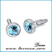 Five Color for Choice~~Wholesale Exquisite Austrian Crystal Cufflink, Fancy Crystal Stunning Cuff-Link
