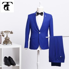 High Quality 2015 New Men Suits Slim Custom Fit Tuxedo Brand Fashion Business Dress Suits Blazer Only Custom Suit