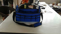 Multi-pockets Tool Carry Bag/ Canvas Garden Toolkit Tote Bag/Garden Tool Bag