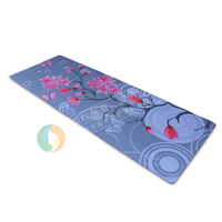 Size 1730*610*3mm customized CMYK 4 color printing,imprint yoga mat