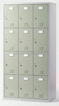 12 Compartments 4 Tiers Locker /Steel cabinet