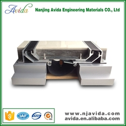Metal Expansion Joint Products with Rubber Seal for Marble Floor