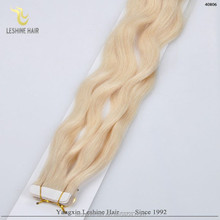 HOT!!! 2014 New Style High Quality 100% Remy hair extensions tape method