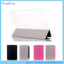 Smart ultra slim silk texture flip stand cover for ipad mini 4 case