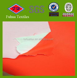230T Nylon Twill Fabric backing with Knit Fabric