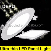 China factory LED room Lighting led Aluminum lamp LED panel lights 6W, round/ square led panel light, High quality led panel