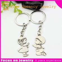 2 hours replied silver color key ring tag zinc alloy