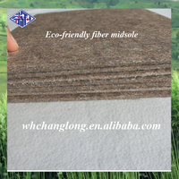 High quality natural fiber board for military boots making material
