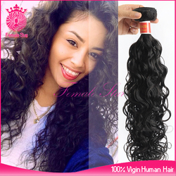 Hot selling professional human hair Best selling Ideal hair crochet hair extension