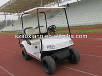 Powerful 4 seater DC motor golf cart maintenance cart with CE certificate