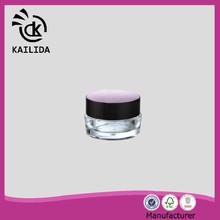 Beautiful waist round drum shape 10ml cheap cosmetics packaging