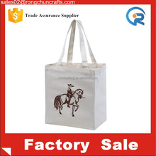 Customized wholesale promotional high quality Canvas classic Tote Bags