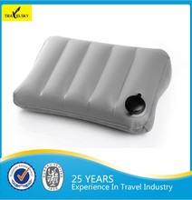 Hot selling Outdoor Travel inflatable airplane pillow Floor Cushion