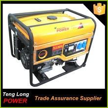 china manufacturor price ac three phase 5kw united power portable generator