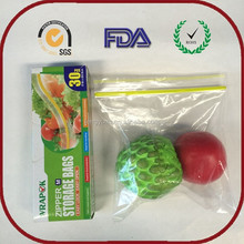 Customized good quality 25x25mm mini plastic packaging storage bag with best price
