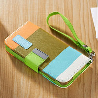 2014 Refreshing Hit Contract Hybrid Ladies Mini Colorful Phone Bag for Iphone 4 4S
