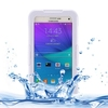 mobile phone leather case hard plastic waterproof case for samsung galaxy note 5