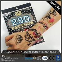 280 designs Animal Finger Temporary Tattoo For Child/Halloween tattoo sticker